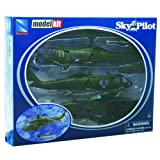 Sikorsky UH-60 Black Hawk Diecast Helicopter Replica 1:60 Scale - Model Kit