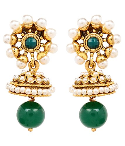 Akshim Multicolour Alloy Earrings For Women - B00NPY8TT2