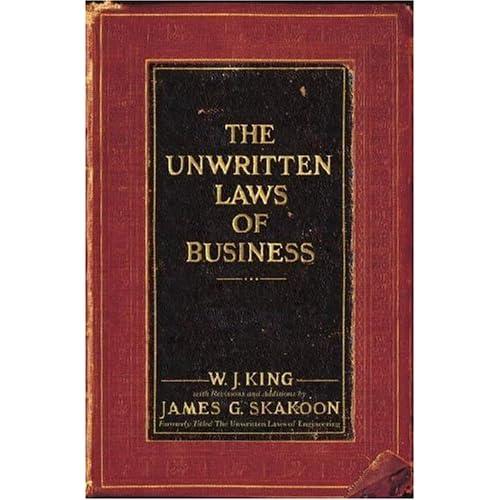 Les lois non-écrites du monde des affaires