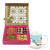 Sweet Magical Surprise Gift Box With Christmas Mug - Chocholik Chocolate Premium Gifts