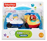 Fisher-Price Little People Wheelies Jet and Helicopter