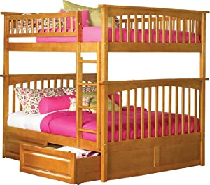 linon home decor bunk beds atlantic furniture ab55527 columbia bunk bed home 12988