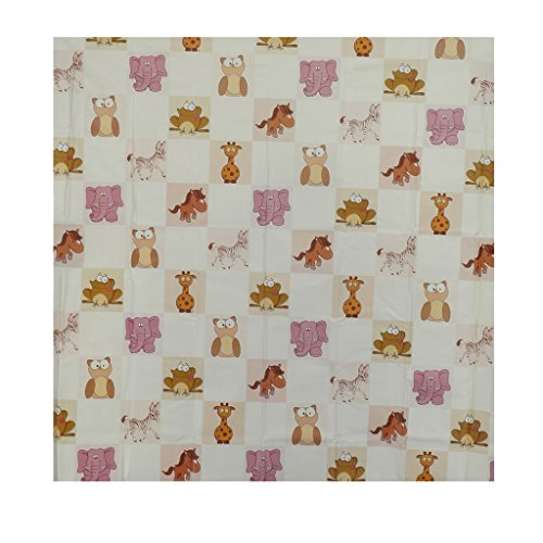 Aarushi Baby Yellow Rubber Mat With Animals Print(ARSH_56)(color May Vary)