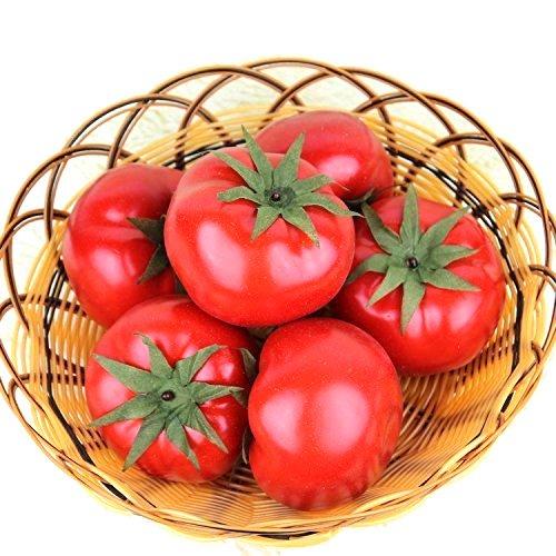 【VEERLIVE】 本物そっくり 真っ赤なトマト 食品模型 10個セット [並行輸入品]