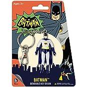 Animated Classic Batman Bendable Comic Book Hanging Keychain Charm