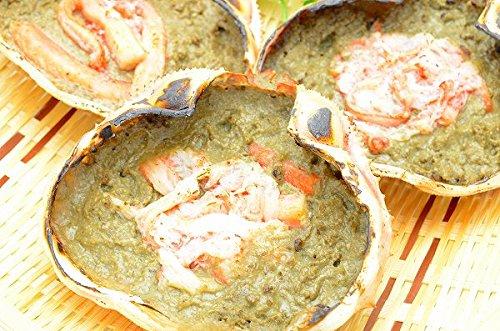 築地の王様 かにみそ 甲羅盛り 100g×5個 日本海産の紅ズワイガニを使用(かにみそ カニミソ かに味噌) かに 蟹 カニ