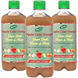 Shrey's Apple Cider Vinegar With Ginger, Garlic, Lemon & Honey – 500 Ml | Natural & Unfiltered With Mother Of...