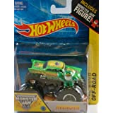 Avenger Monster Jam Off Road Truck By Hot Wheels 1:64 With Monster Jam Figure