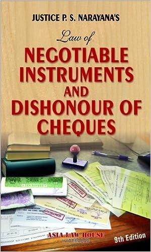 Dishnonour of Cheque