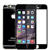 Zocardo Mirror Front Back Tempered Glass Screen Protector For Apple IPhone 4s - Black With Free Soft Back Transparent Cover Worth Rupee 200
