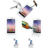 Acm Pack Of 2 Tempered Glass Screenguard For Huawei Ascend P7 Mobile Screen Guard Scratch Protector