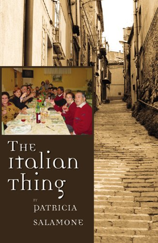Book: The Italian Thing by Patricia Salamone