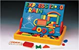 Magnetic Shapes, Letters, Numbers, (150 Pieces!) & Board - Perfect Gift for Your Littl...