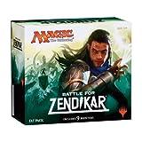 Magic the Gathering (MTG) Battle for Zendikar - Fat Pack (Includes 9 Booster and 80 Full Art Land)