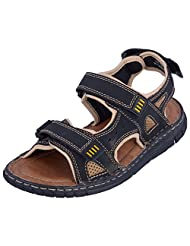 Tanny Shoes Black & Brown Casual Shoe (501-727)