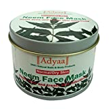 Adyaa Naturals Neem Face Mask Dry/normal Skin (heals Acne And Treats Skin Infections)_50gms