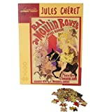 Pomegranate Jules Cheret - Moulin Rouge 1000 Piece Jigsaw Puzzle