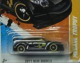 2011 HOT WHEELS NEW MODELS 16/50 BLACK MEGANE TROPHY 16/244