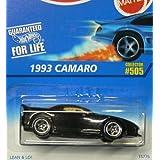 #505 1993 Camaro 5 Spoke Wheels Collectible Collector Car Mattel Hot Wheels