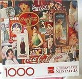 Coca-Cola A Thirst for Nostalgia Springbok 1000 pc Puzzle