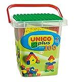 Unico Plus 100-Piece Interlocking Building Blocks/Bricks