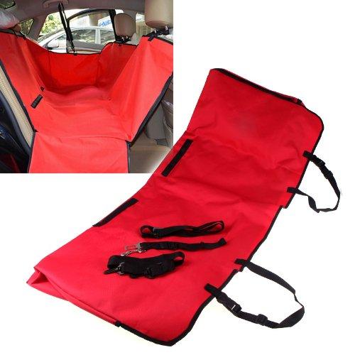 Anself 867862 - Cubierta de asiento de coche para animal...
