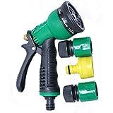 GOCART 8 Mode High Performance Water Spray Gun For Garden - Car Washing