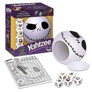 Click to buy Nightmare Before Christmas Yahtzee from Amazon!