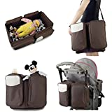 ShopyBucket Portable Folding Baby Cot,Detachable Infant Cradle Crib,Multifunctional Travel Bed,Female Big Maternity Bags Messenger For Moms(Buy One Get 5 In 1 Travel Luggage Organiser Worth RS 899)