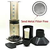 Generic Black : Best Espresso Portable Coffee Maker /Haole Press Aeropress Coffee Maker Coffee Press Maker With...