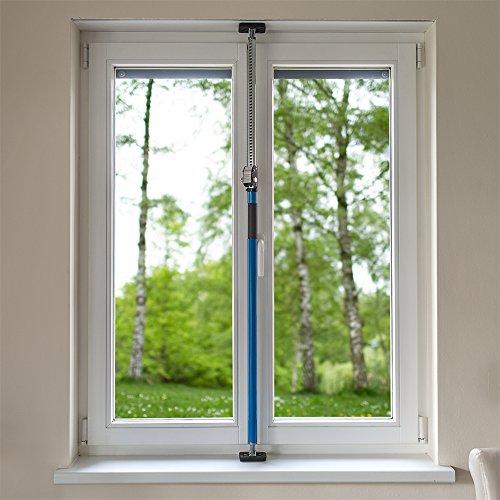 Sicherungsstange Fenstersicherung Türsicherung Einbruchschutz 199-375cm - 6
