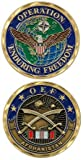 Operation Enduring Freedom OEF Afghanistan Crossed Collectible Challenge Coin