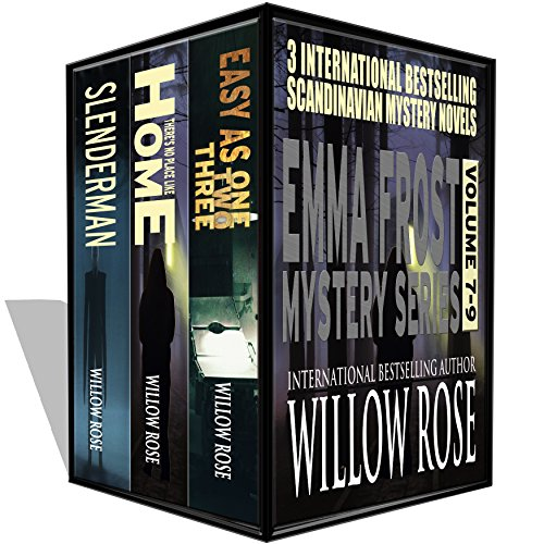 Trick or treat!  Treat yourself to 3 bone-chilling tales from the Queen of Scream bestselling author, Willow Rose:  Emma Frost Mystery Series vol 7-9