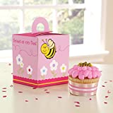 Sweet-As-Can-Bee Cupcake Boxes (4 count) Party Accessory