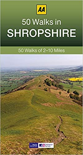 Shropshire walking guidebook