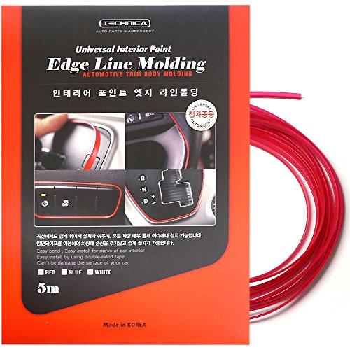 Gap Color Line Interior Molding Trim 1Ea (5M) For Kia 2001-2015 Optima(Red)