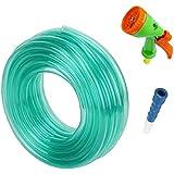 Truphe Garden Water Pipe, Garden Hose Water Pipe, PVC Pipe - 0.5 Inch / 10 Meters Garden Pipe With 5 Way Water...