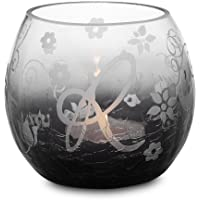 Perfect Paisley Holiday By Pavilion Ceramic Tea Light Candle Holder, Friends Sentiment, 3 3/4 Inch Round