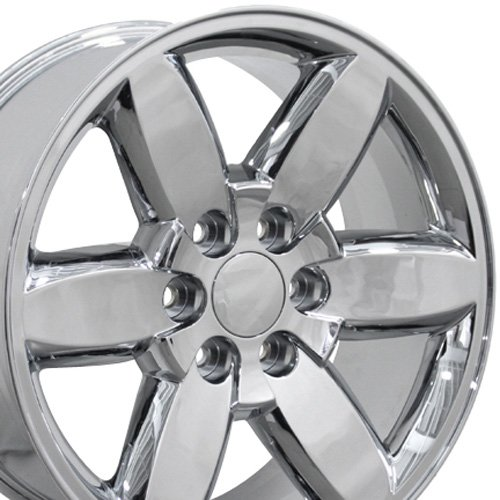 20×8.5 Wheel Fits GMC Truck – Yukon Style Chrome Rim