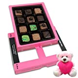 Chocholik Luxury Chocolates - Desirable Pralines Chocolates For Love One With Teddy