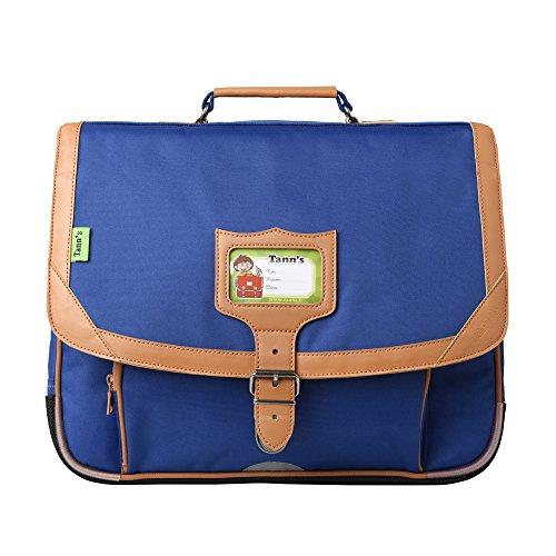 Tann's Classic Cartable, 38 cm, Bleu T5CL-CA38-BL