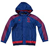 adidas Kids Manchester United Training All Weather Jacket - Kids Royal Blue 13-14 Years