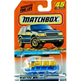 1998 Mattel Matchbox #45 Of 100 Vehicles Submersible Ocean Edition Series 9 World Ocean Exploration New Out Of...