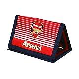 Arsenal FC Football Team Fade Velco Fasten Wallet