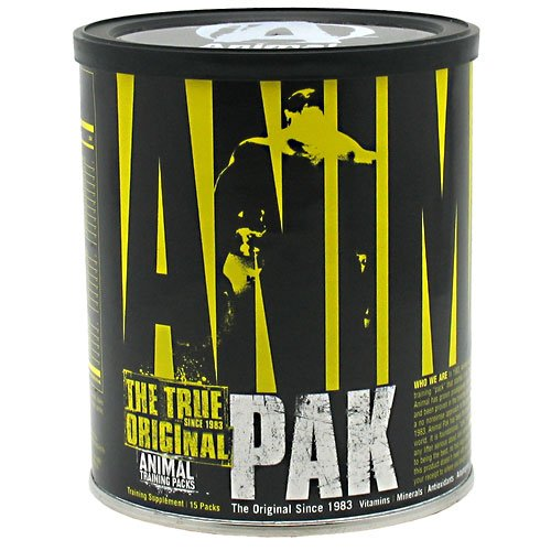 Universal Nutrition Animal Pak, 15 paks