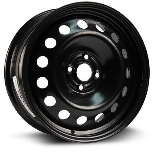 Steel Rim 16X6.5, 4X100, 56.6, +42, black finish (MULTI APPLICATION FITMENT) X99149N