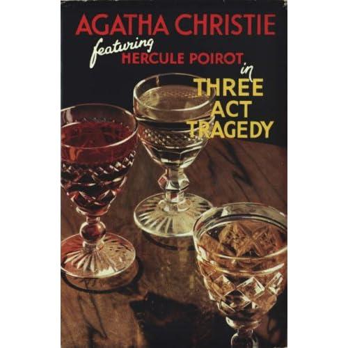 Three Act Tragedy Christie, Agatha
