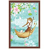 Diy Oil Painting, Paint By Number Kits For Kids - Roam 20X30cm.