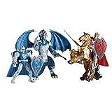 True Legends Knights Deluxe Battle Figures Playset - King Arthur and Lancelot