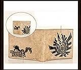 Monster Hunter Wallet Anime Wallet Cosplay Purse Khaki Short